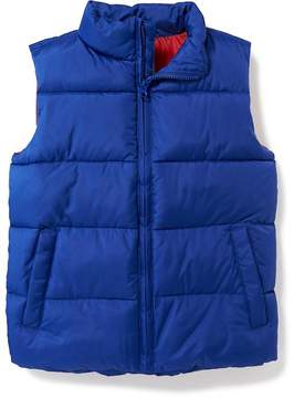 Old Navy Frost-Free Quilted Vest for Boys