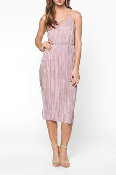 Everly Pleated Midi Dress
