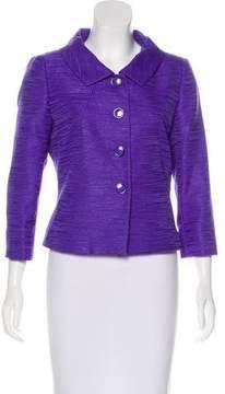 Tahari Arthur S. Levine Button-Up Structured Jacket