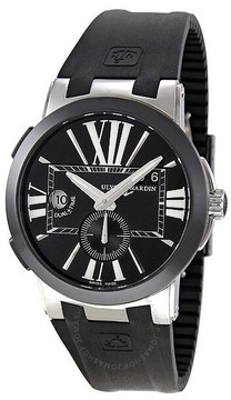 Ulysse Nardin Executive Dual Time Automatic Men's Watch 243-00-3-42
