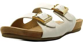 Giani Bernini Jijee Women Open Toe Synthetic White Slides Sandal.