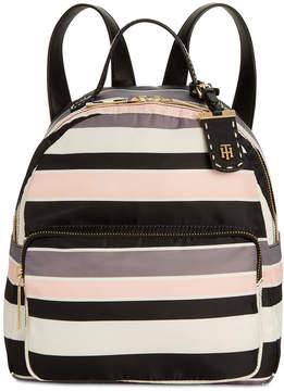 Tommy Hilfiger Julia Victory Stripe Dome Backpack