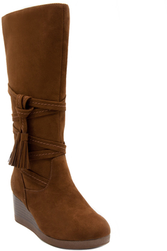 Rampage Chestnut Evelyn Boot