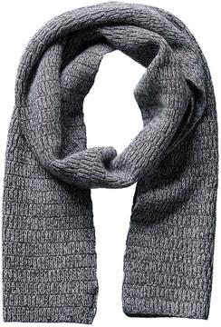 Portolano Ribbed Wool & Cashmere-Blend Scarf