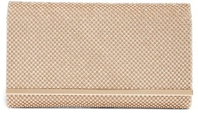 Nordstrom Crystal Mesh Bar Clutch - Metallic