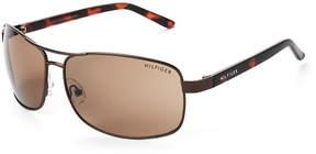 Tommy Hilfiger Bronze-Tone Vasquez Navigator Sunglasses