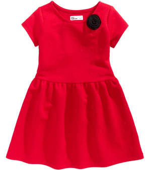 Epic Threads Quilted-Look Fit & Flare Dress, Little Girls (4-6X), Created for Macy's