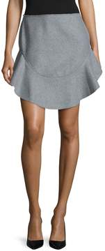 Finders Keepers Women's Seidler Wool Peplum Mini Skirt