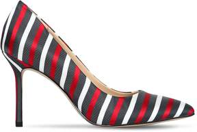 Katy Perry 90mm Sissy Bow Tie Striped Pumps