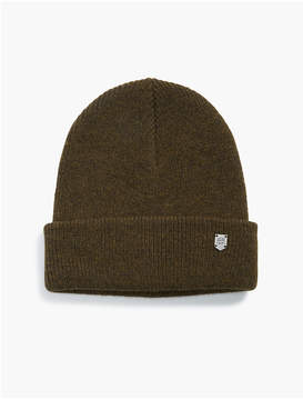 Lucky Brand BEANIE WITH METAL PLAQUE