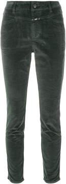 Closed velvet skinny trousers