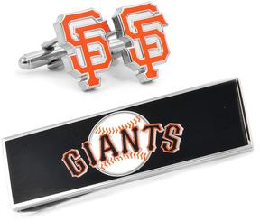 Ice San Francisco Giants Cufflinks and Money Clip Gift Set