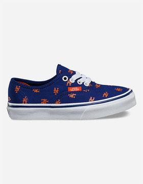 Vans x MLB Mets Authentic Boys Shoes