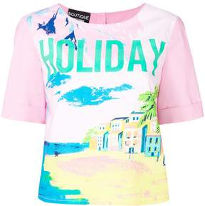 Moschino Holiday print T-shirt