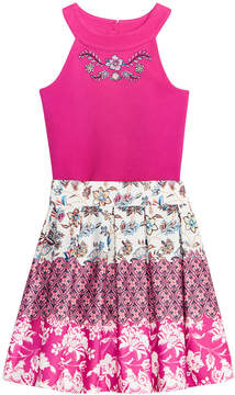 Beautees 2-Pc. Bodysuit & Skirt Set, Big Girls