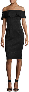 Donna Morgan Women's Off the Shoulder Dress