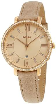 Fossil Jacqueline Rose Crystal Dial Ladies Watch