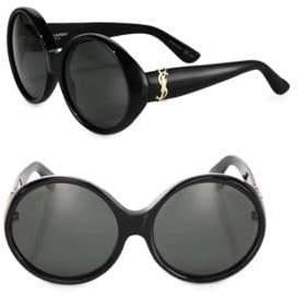 Saint Laurent SL M1 60MM Round Sunglasses