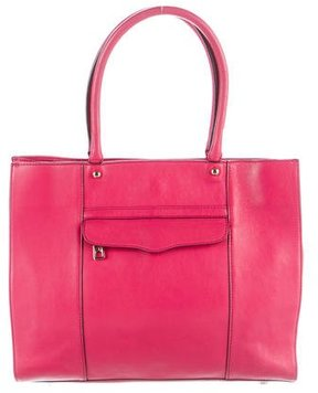 Rebecca Minkoff Leather M.A.B. Tote - PINK - STYLE