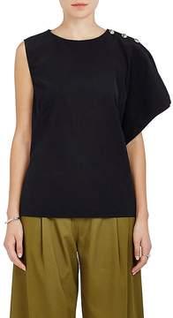 Marni Women's Tech-Fabric Asymmetric Top