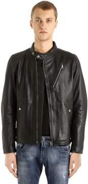 G Star Empral Deconstructed Leather Jacket