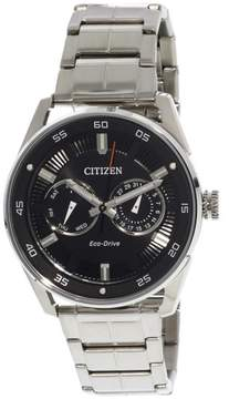 Citizen Men's BU4027-88E Silver Stainless-Steel Japanese Quartz Fashion Watch