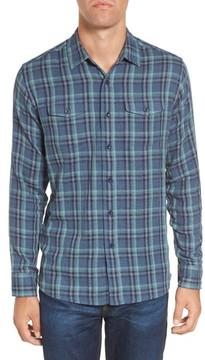 Grayers Men's Smith Double Cloth Plaid Sport Shirt