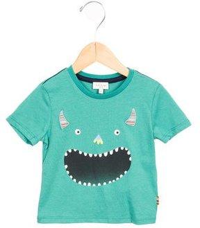 Paul Smith Boys' Monster Print Short Sleeve Shirt