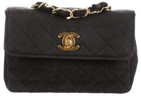 Chanel Quilted Faille Mini Flap Bag