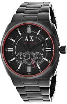 Armani Exchange Men's Chronograph Watch Quartz Mineral Crystal AX1801