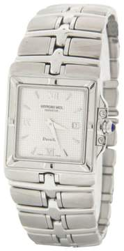 Raymond Weil Parsifal Silver Dial Stainless Steel Bracelet Quartz Mens Watch