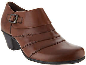 Earth Leather Side Buckle Shooties - Dawn