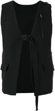 The Viridi-anne buckle strap vest