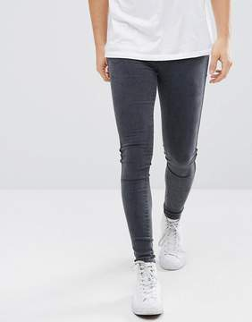 Dr. Denim Dixy Extreme Muscle Jeans Gray Lush Shadow