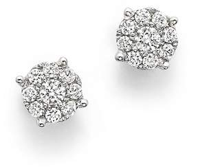 Bloomingdale's Diamond Cluster Stud Earrings in 14K White Gold, .25 ct. t.w. - 100% Exclusive