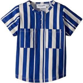 Mini Rodini Odd Stripe Baseball T-Shirt Boy's T Shirt