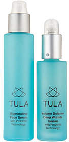 TULA Probiotic Skin Care Day & Night Treatment Serum 2-Piece Set