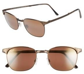Maui Jim Men's 'Stillwater' 52Mm Polarized Sunglasses - Antique Gold/hcl Bronze