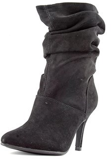 Style&Co. Style & Co. Womens Adelay Suede Pointed Toe Mid-calf Fashion Boots.