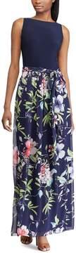 Chaps Petite Floral Maxi Dress