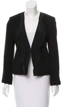 DKNY Structured Wool Jacket