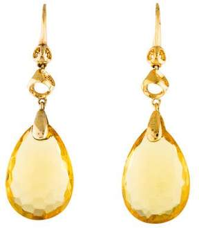 Di Modolo Icona Honey Crystal Drop Earrings