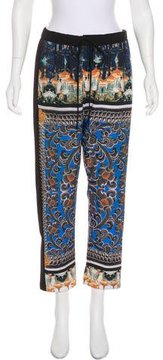 Clover Canyon Printed High-Rise Pants