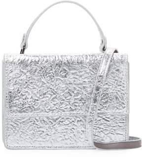Deux Lux Women's Crinkle Metallic Crossbody Bag