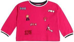Sonia Rykiel Cotton Jersey T-Shirt W/ Patches