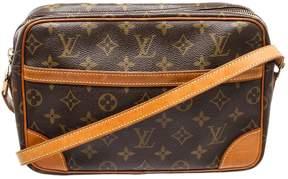Louis Vuitton Trocadéro cloth crossbody bag - BROWN - STYLE