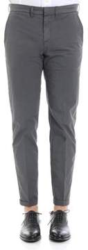 Fay Men's Grey Cotton Pants.