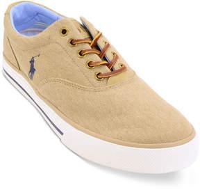 Polo Ralph Lauren Men's Vaughn Canvas Low Top Sneaker Men's Shoes