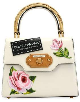 Dolce & Gabbana Welcome Medium Vintage Top-Handle Bag
