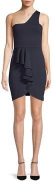 Susana Monaco Women's Maggie One-Shoulder Bodycon Dress